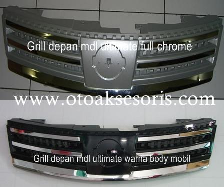 NGL 07-Grill Ultimate style Warna atau Chrome Grand Livina
