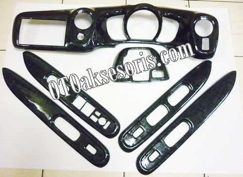 MBO 34-Panel Black Wood Colour Honda Mobilio