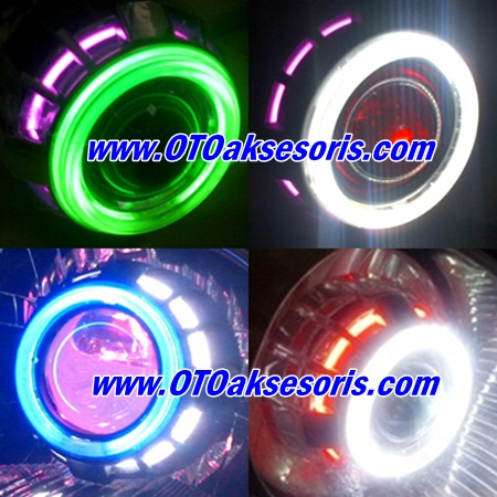 BI Xenon Projector LED Angel Eyes All New Xenia
