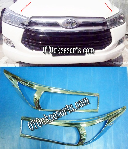 Garnish Lampu Depan & Garnish Lampu Belakang All New Innova 2016