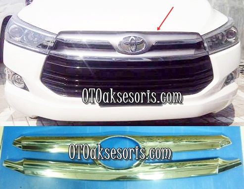 Cover Grille Luxury All New Innova 2016