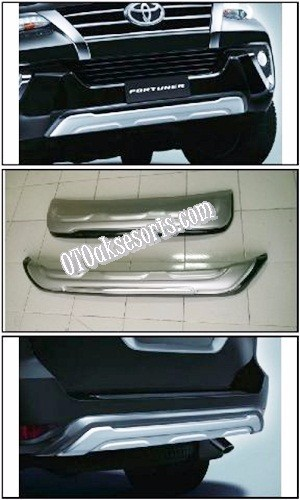 Front + Rear Skid Plate  All New Grand Fortuner 2016