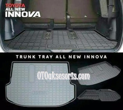 Trunk Tray/Luggage Cargo/Cargo Tray/Karpet Bagasi Belakang All New Innova 2016