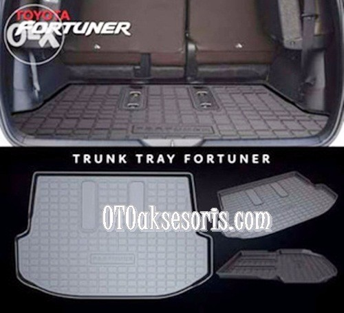 Trunk Tray/Luggage Cargo/Cargo Tray/Karpet Bagasi Belakang All New Grand Fortuner 2016