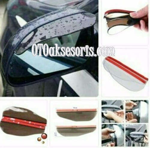 Talang Air Cover Spion All New Pajero Sport 2016