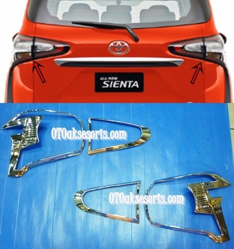 Garnish Belakang/Head Lamp Toyota SIENTA