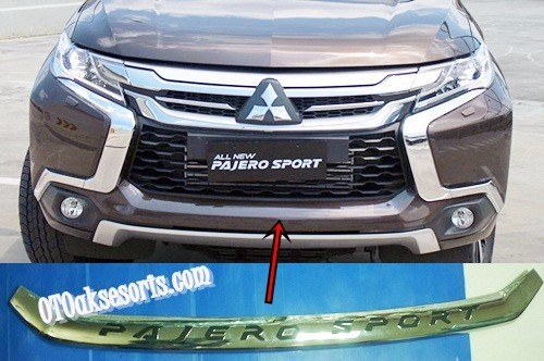 List Bumper Depan All New Pajero Sport 2016