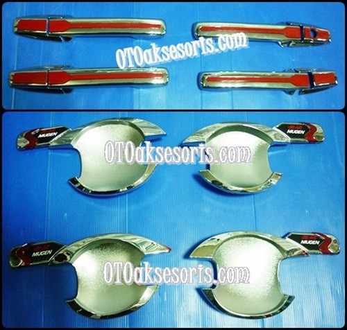 Handle + Outher List Merah Honda Mobilio