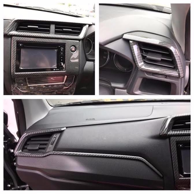 Panel Carbon Dashboard Honda BRV