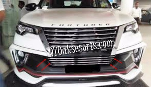 List Bumper Bawah All New Grand Fortuner