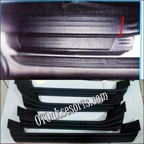 Sill Plate Samping Plastik/Side Scuff Plate Black/Door Sill Plate All New Grand Fortuner