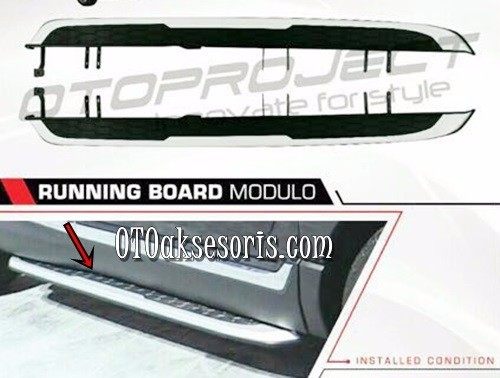 Foot Step/Side Step/Injakan Samping/Running Board Modulo Honda CRV Turbo