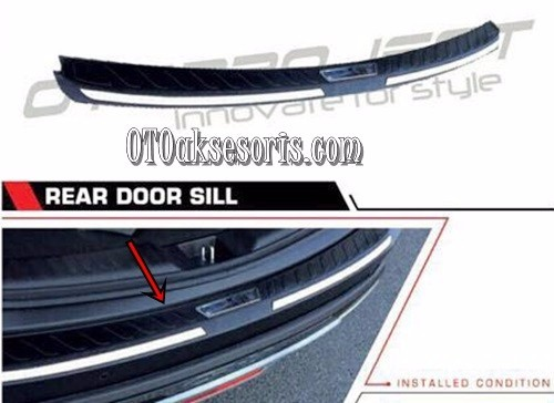 Sill Plate Belakang/Rear Door Sill Injection Honda CRV Turbo