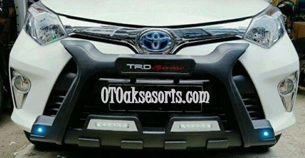 Tanduk/Bumper Depan SIGRA Model Luxury + DRL