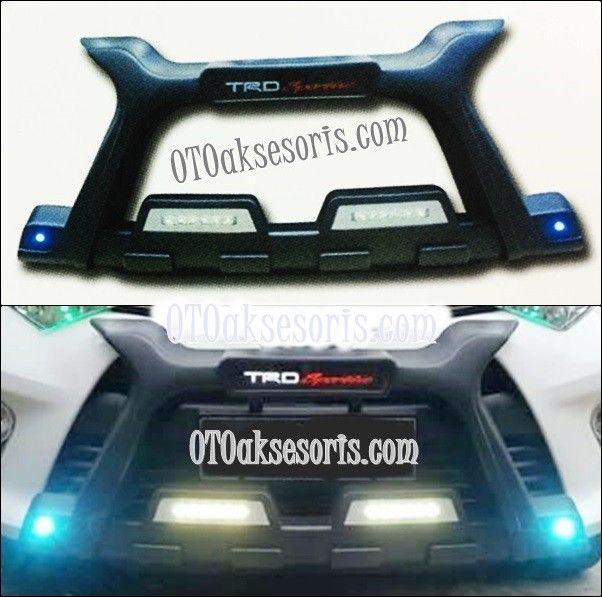 Tanduk/Bumper New Rush Model Luxury + DRL