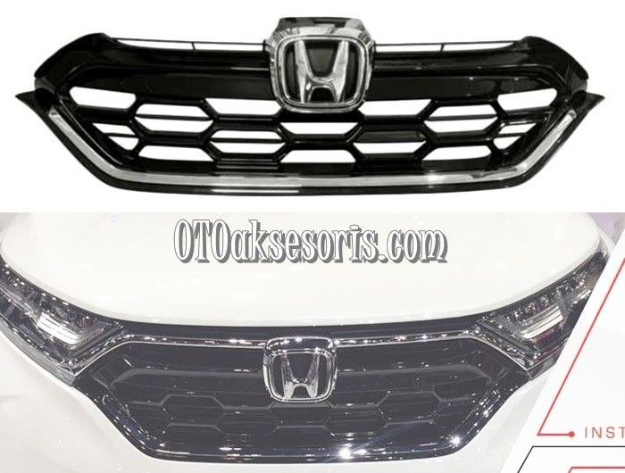 Front Grill/Grille Depan Model Modulo All New CRV Turbo
