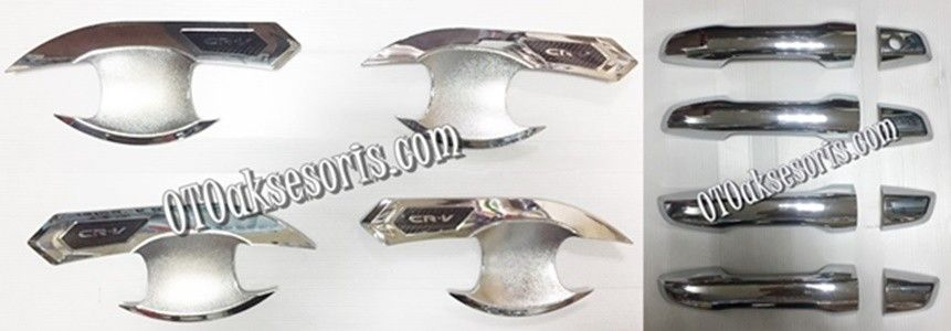 Handle Cover + Outher/Mangkok/Pegangan Pintu All New CRV Turbo