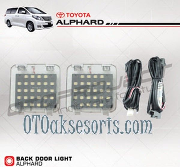 Back Door Light ALPHARD / VELLFIRE