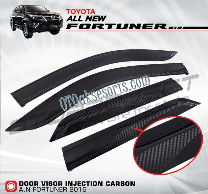 Talang Air All New Fortuner Hitam Carbon Injection