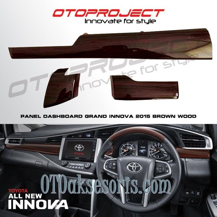 Panel Wood Dashboard All New Innova Reborn
