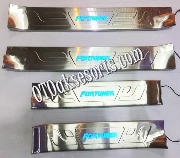 Sill Plate Samping/Door Sill Plate + Lamp All New Grand Fortuner