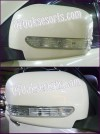 PJR 57-Cover Spion + Lampu Warna Pajero Sport