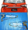SNT 32-Garnish Belakang/Head Lamp Toyota SIENTA