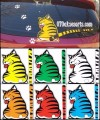 ANY 68-Stiker Wiper Ekor Kucing Bergerak/Moving Tail Cat