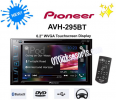 AUD 05-Head Unit/Tape Pioneer AVH-295 BT Tape Mobil AVH295BT Double Din AVH 295 BT Head Unit