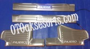 NPJ 72-Sill Plate Samping/Door Sill Plate + Lamp All New Pajero Sport Model B