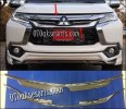 NPJ 75-Front Grille Trime Chrome/List Grille Atas All New Pajero Sport