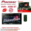 AUD 24-Audio Mobil Pioneer AVH-X595BT/Head Unit Double Din AVH X 595BT/Tape Mobil AVH-X595 BT