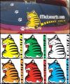 NWT 29-Stiker Wiper Ekor Kucing Bergerak/Moving Tail Cat
