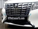 AV 34-List Bumper Depan / Front Bumper Trime Chrome All New Alphard