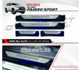 NPJ 101-Sill Plate Samping/Side Scuff Plate Kombinasi/Door Sill Plate non lamp All New Pajero Sport