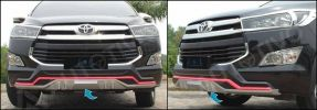 ANR 146-Front Lower bawah / Bumper Guard / Bumper Depan / Skid  All New Innova Reborn
