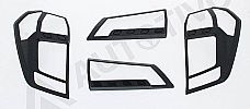 SGR 88-Daihatsu Sigra Tail Lamp Garnish Carbontivo Series