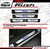 NWR 106-Sill Plate Samping / Side Scuff Plate Kombinasi / Door Sill Plate With Lamp All New Rush