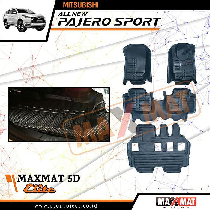 Karpet Maxmat 5D Elite Mitsubishi All New Pajero