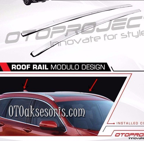 Roof Rail Premiu All New CRV Turbo Model Modulo