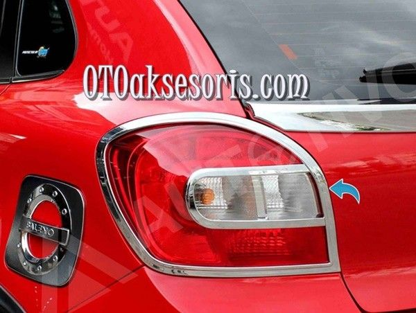 Garnish Belakang Chrome /Stop Tail Lamp Baleno HATCHBACK