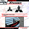 XPR 164-Logo Xpander (front and Rear) Carbon