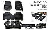 CTR 107-Karpet / Carpet Mobil 5D + Bagasi Honda All New CRV Turbo