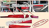 VTR 61-Panel wood 5 Pcs All New Innova Reborn Venturer