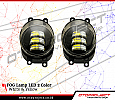 ANG 138-Fog Lamp Led 2 Color White & Yellow / Lampu Foglamp 2 Warna All New Fortuner