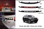 ANG 146-TrunkLid All New Fortuner VRZ Black / Hitam With Led