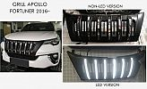 ANG 147-Grill / Grille All New All New Fortuner VRZ With Led Model Apollo