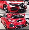 CVT 72-Bodykit Honda Civic Turbo Hatchback HB Type R Full Set ABS Plastic High Quality
